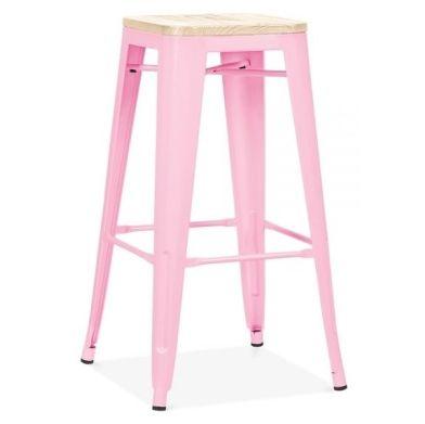 Pastel Pink Xavier Designer Stool
