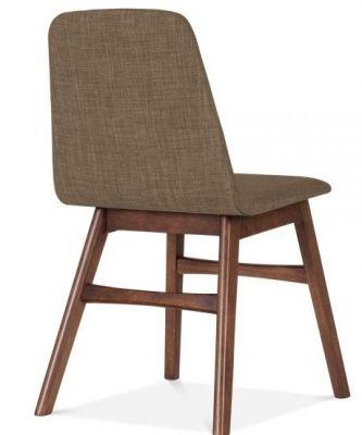 Back Brown Desigenr Dining Chair