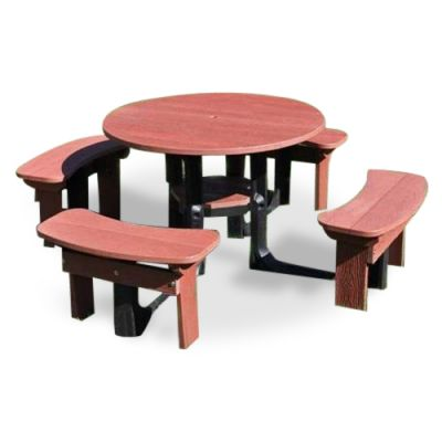 BENTLEY RECYCLED PLASTIC PLASTIC PICNIC TABLE