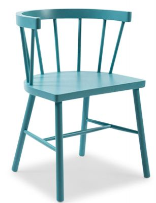 SENTA SPINDLE DINING CHAIR - COLOURED FINISHES