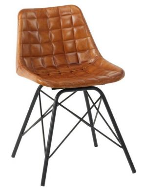 Tiger Bruciato Retro Dining Chair