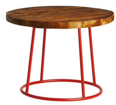 Maxo Coffee Table With A Red Frame