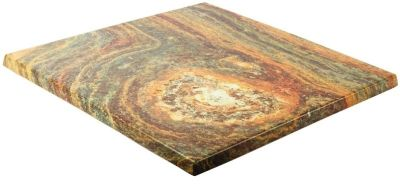 Werzalit Square Rusty Table Top