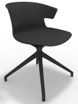 Elegante Spider Base Chair - Anthracite Shadow Grey