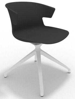 Elegante Spider Base Chair - Anthracite White