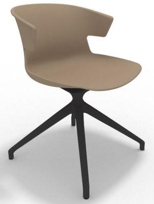 Elegante Spider Base Chair - Beige Shadow Grey
