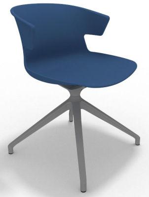 Elegante Spider Base Chair - Blue Aluminium