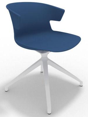 Elegante Spider Base Chair - Blue White