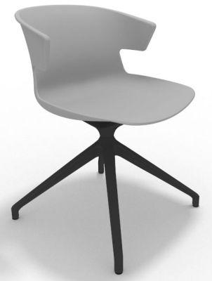 Elegante Spider Base Chair - Grey Shadow Grey