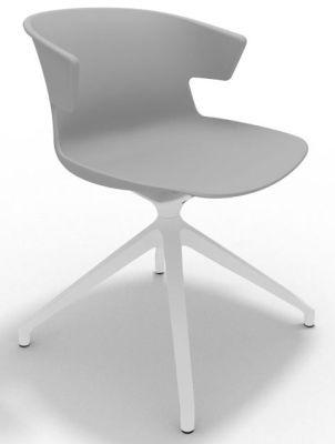Elegante Spider Base Chair - Grey White