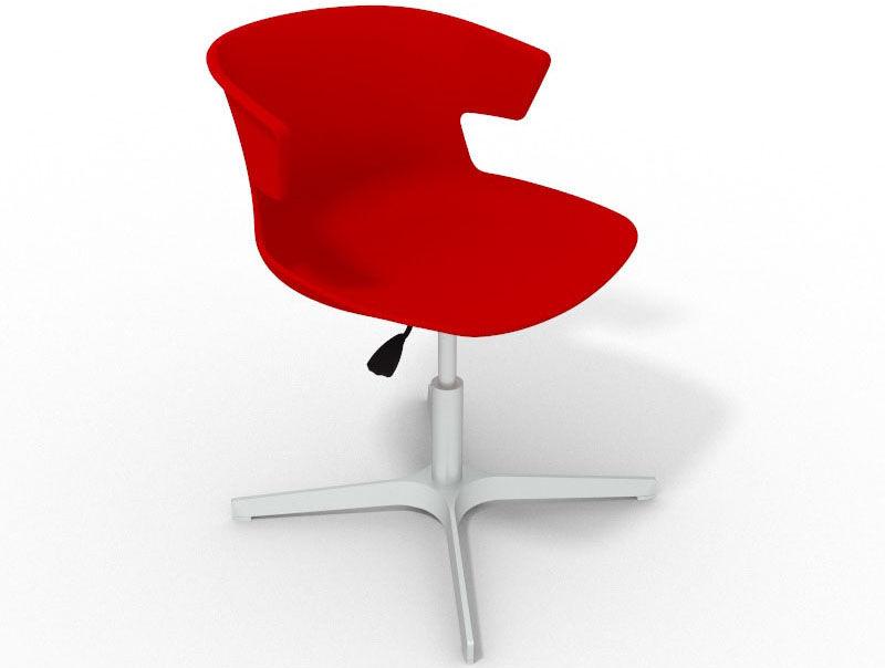 4 Star Metal Base Designer Chair Elegante Cafe Reality