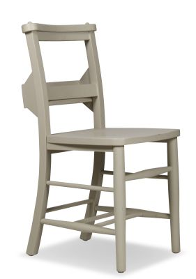 Church Dining Chair Paint Finish Side View