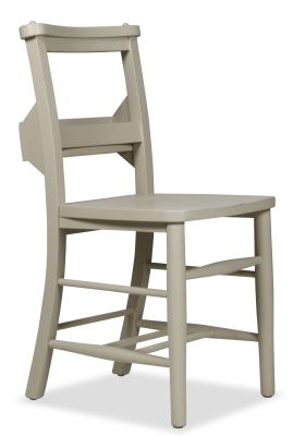 Church Dining Chair Paint Finish Sidet View