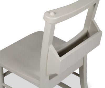 Church Dining Chair Paint Finish Menu Holder View