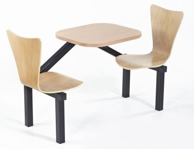 Benji Express Two Seater Witha Beech Table