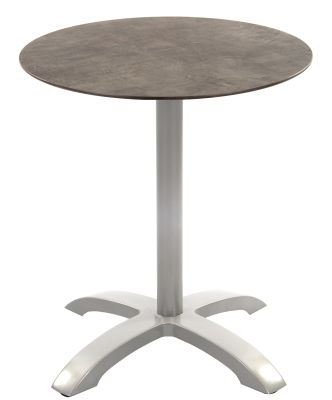 Toto Outdoor Table Witha Concrete Effect Table Top And Grey Aluminium Base