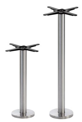 Ikara Stainless Steel Floor Fix Table Bases