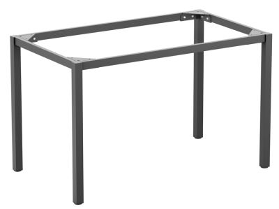 Mode Rectangular Dining Table Frame In Dark Grey