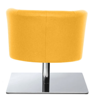 Siena Square Base Tub Chair - Five Year Guarantee - Two-tone Design