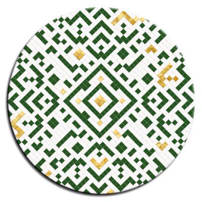 Mosaic Vert Round Table Tops