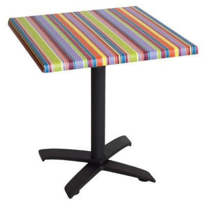 Table With Stripes Table Top