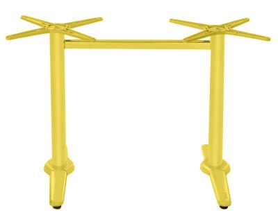 Yellow Rectangular Base