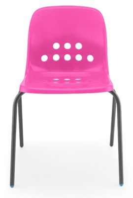 Pepperpoit Chair In Pink Front View