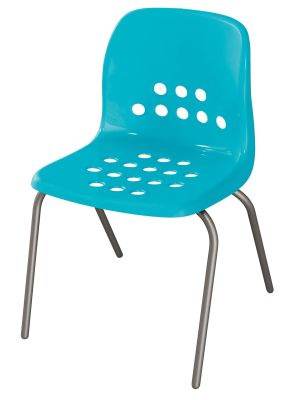 Pepperpot Chair In Blue Front Angle View