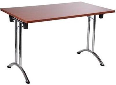 GM Curved Leg Folding Rectangular Table