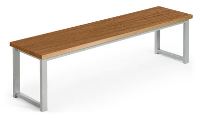 MIDAS DINING HEIGHT BENCHES WALNUT