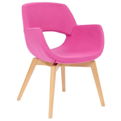 Shade Wooden-framed Antibacterial Breakout Chair