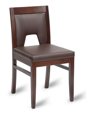 Marland Mocha Faux Leather Dining Chair