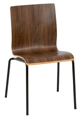 Hale Sidechair A Walnut Black