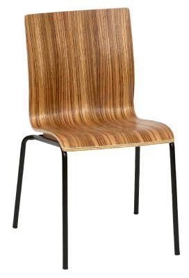 Hale Sidechair A Zebrano Black