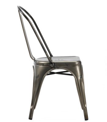 French Bistro Chair Side