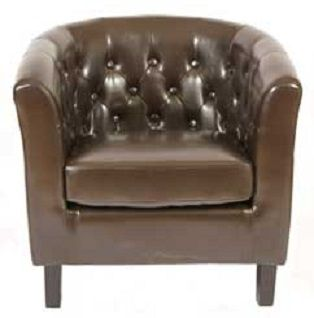 Charmant Ayr Tub Chair Brown ...