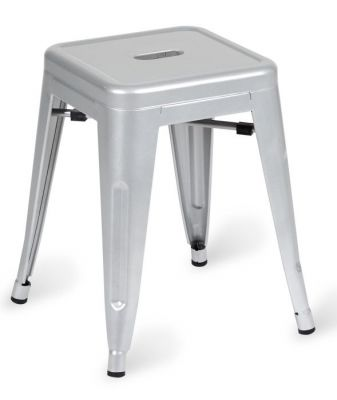 Super Tolix Low Metal Stools Gmtry Best Dining Table And Chair Ideas Images Gmtryco