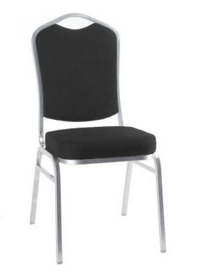 Silver-Frame-Banqueting-Chair-with-Padded-Seat