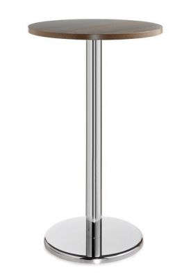 Strong-Poseur-Table-with-Round-Top-and-Chrome-Base