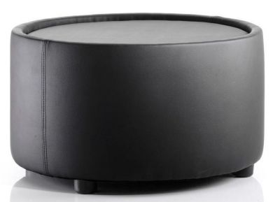 Fully-Upholstered-Round-Black-Leather-Coffee-Table-compressor
