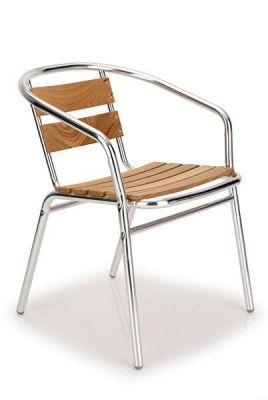 Outdoor-Use-Aluminium-Frame-Chair-with-Teak-Slats-compressor