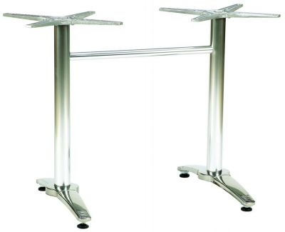 Alloy Twin Table Base For Rectangular Top