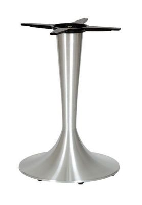 Trumpet-Brushed-Steel-Table-Base