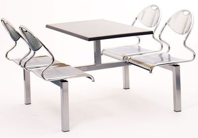 Stylish-Chrome-Fast-Food-Style-Seating