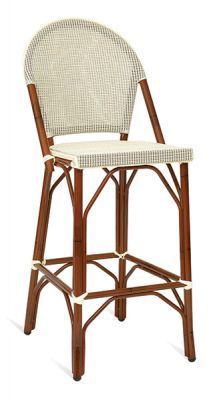 High-Stool-Bamboo-Effect-Frame-and-Beige-Weave-Seat-and-Back