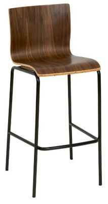 Zebrano High Stools From The Hayley Range Cafe Reality