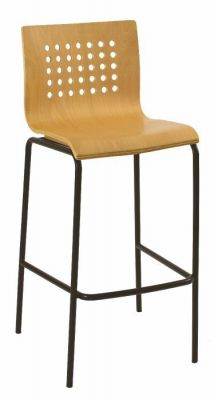 Commercial-Standard-Bar-Stool-with-Beech-Seat-and-Black-Metal-Frame