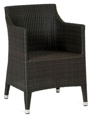Outdoor-Coffee-Finish-Weave-Armchair