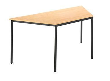 Trapezopidal-Shape-Fully-Welded-Canteen-Table