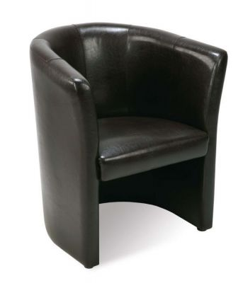 Premium Leather Tub Chair